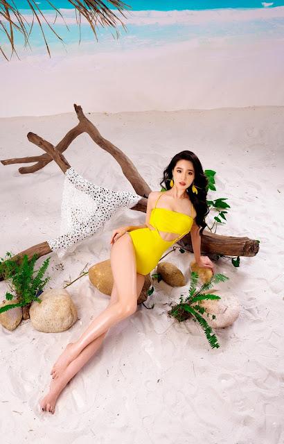 Ảnh người đẹp Việt Nam mặc bikini: Người đẹp Nguyễn Hoàng Bảo Châu mặc bikini 4