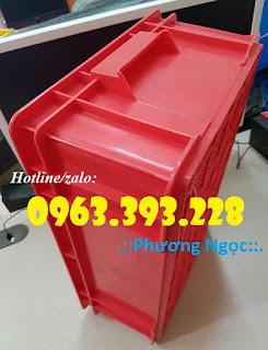 Thùng nhựa đặc B4, hộp nhựa chứa đồ, thùng nhựa đựng linh kiện