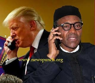 Trump Calls Buhari on Phone