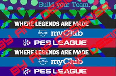 PES 2013 PES 2018 Adboards by ANF Designer