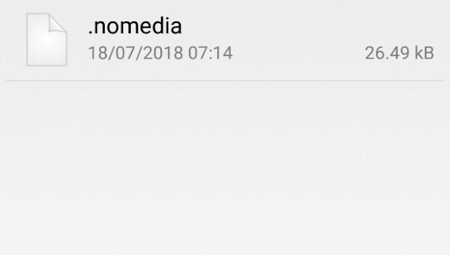 Fungsi File .nomedia di Android dan Bagaimana Jika Dihapus