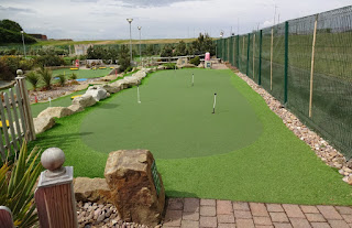 Putting Green at Championship Adventure Golf in New Brighton