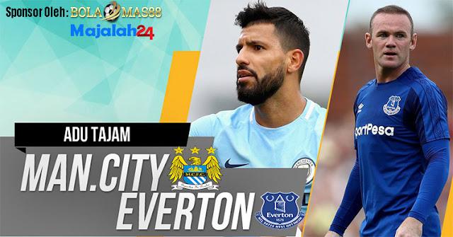 Prediksi Laga Manchester City Lawan Everton 22 Agustus 2017