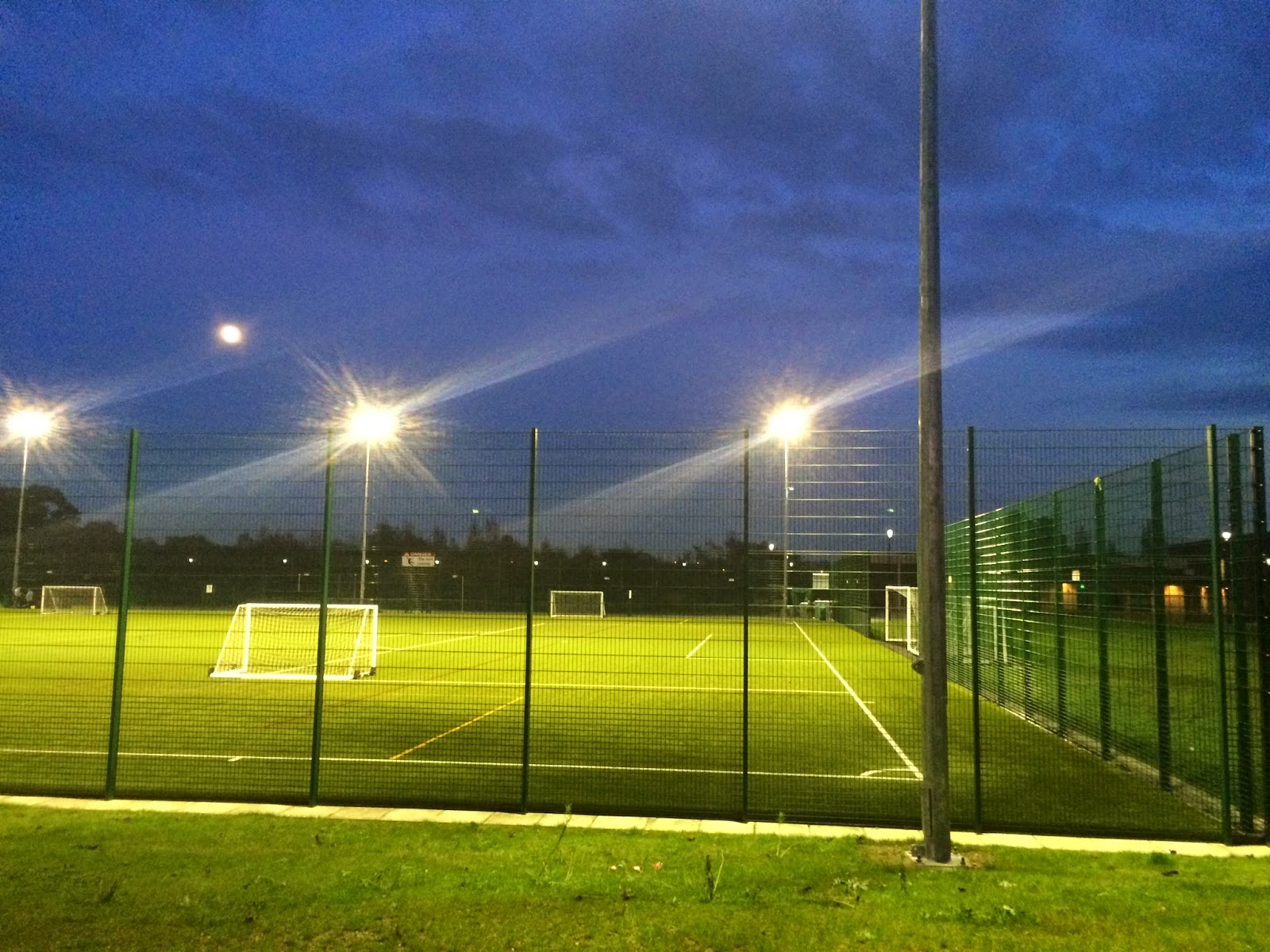 Sports Floodlighting Project at Priory City of Lincoln Academy by Hallidayu0027s lighting team. Give us a call for more information or check out our website ... & Halliday Lighting