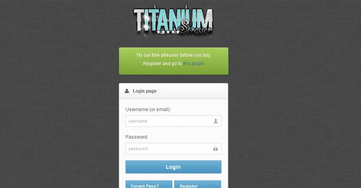 Titanium-Stresser-ddos-tool