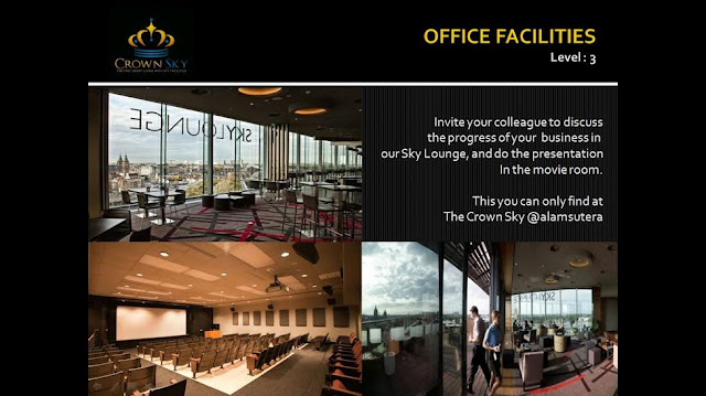Crown Sky Alam Sutera Office Faciltiies