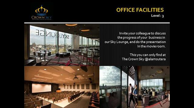 Crown Sky Alam Sutera Office Faciltiies