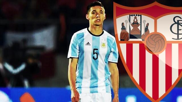 OFICIAL: Matías Kranevitter foi emprestado ao Sevilla