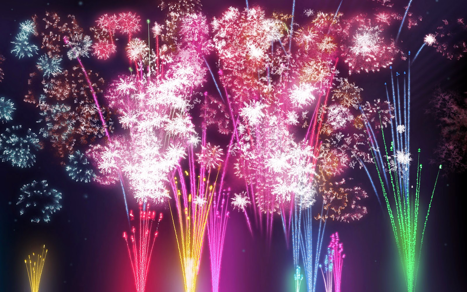 Celebration Hd Wallpapers 2015 Animated Cakes Fireworks