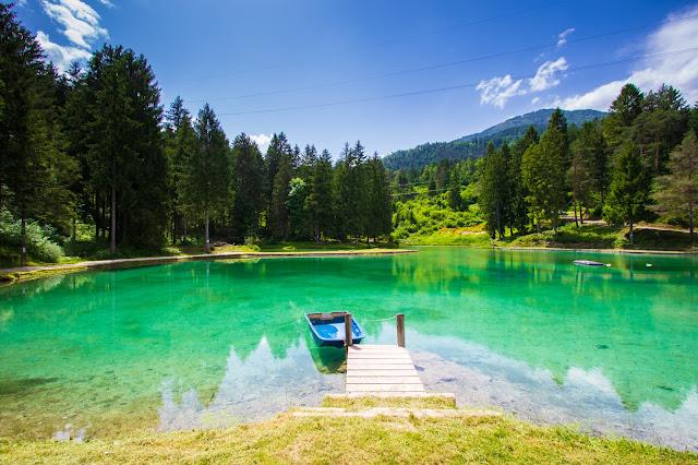 Lago di Cadore e lago di Lagole
