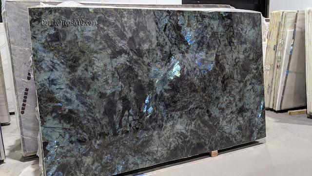 Lemurian Blue Granite Slabs NYC