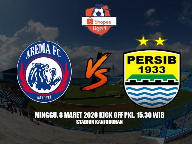 Lawan Arema FC, Ini Daftar 20 Pemain Persib yang Diboyong ke Malang