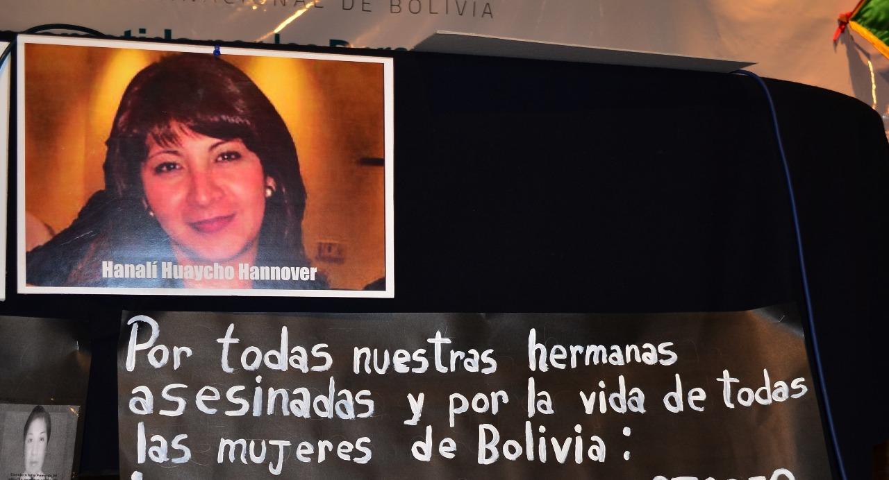 La vida y merte de Hanalí Huaycho Hannover se convirtió en un símbolo para la lucha contra la violencia a la mujer en Bolivia