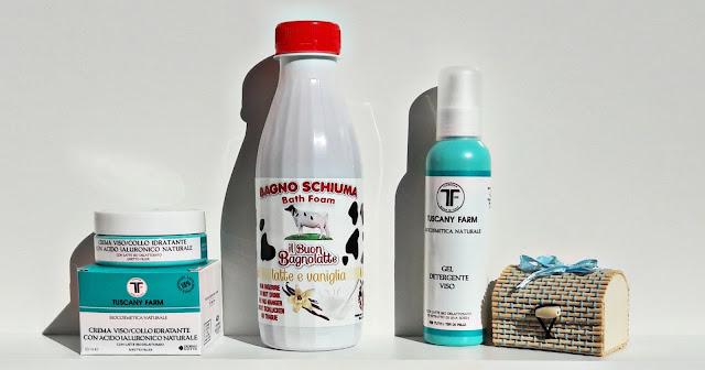 tuscany farm florence cosmetici bio al latte delattosato