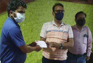 निजी कंपनियों ने ऑक्सीजन प्लांट के लिए दी सहयोग राशि  | #NayaSaberaNetwork