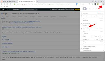 Mengganti Tampilan Browser Pc/Laptop Jadi Android Dengan User Agent