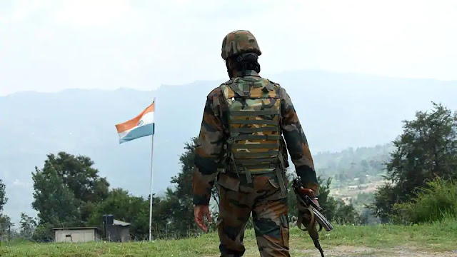 Army personnel injured