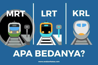 daerah ibu kota ini sudah memiliki penduduk kurang lebih  Apa Bedanya MRT, LRT, dan KRL? Berikut Penjelasannya