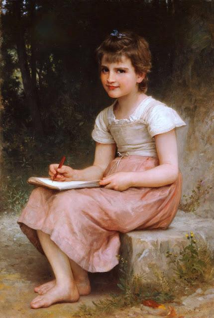Адольф Вильям Бугро - Призвание (1896)