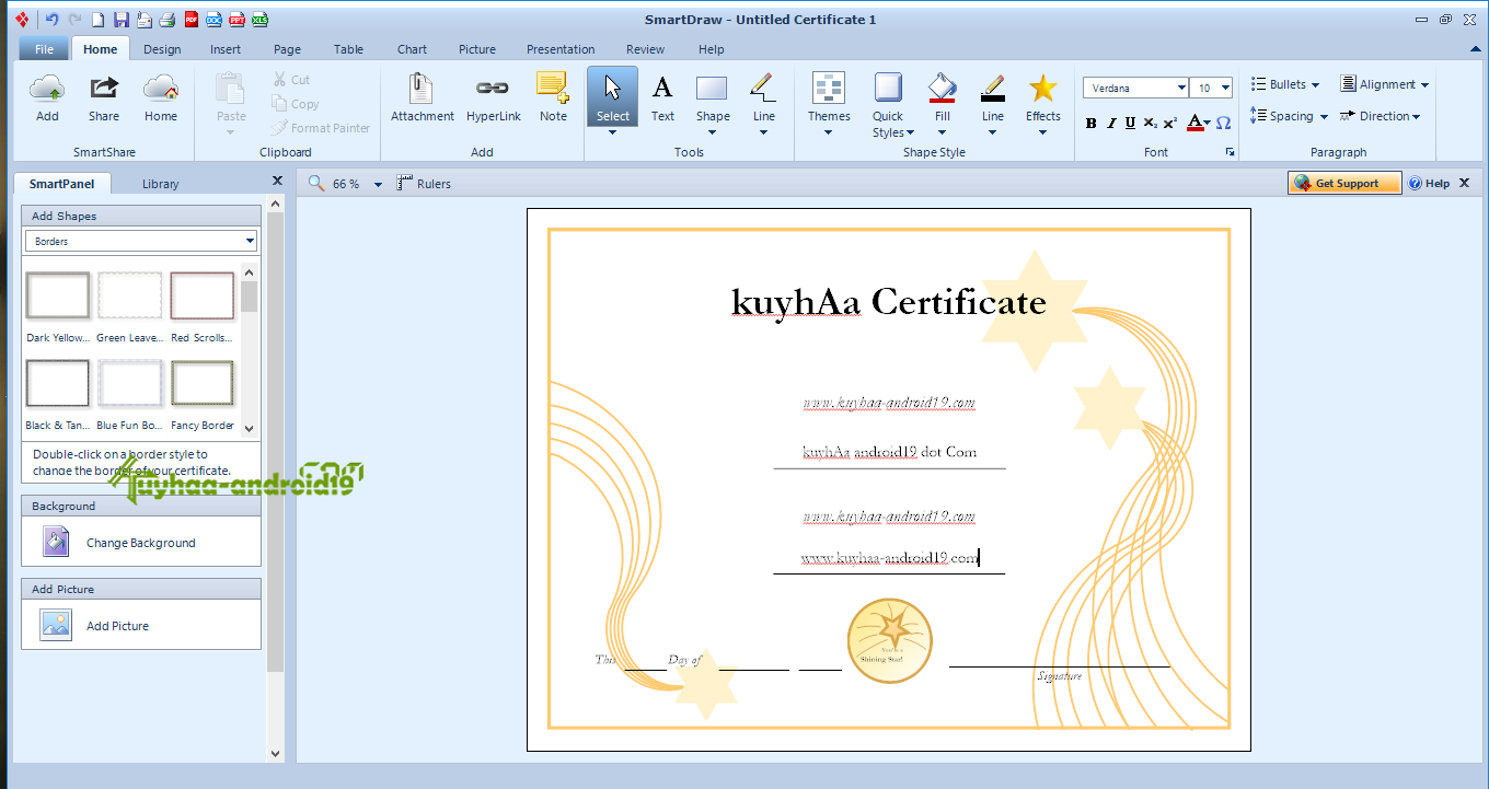 smartdraw certificate templates - smartdraw 2013 enterprise edition full version kuyhaa me