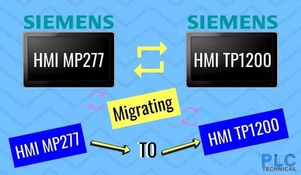 Migrating Simatic HMI MP277 to TP1200 Comfort HMI
