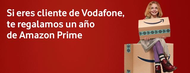 Vodafone promoción Amazon