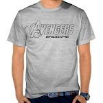 Kaos Distro Keren Avengers SK14 Asli Cotton