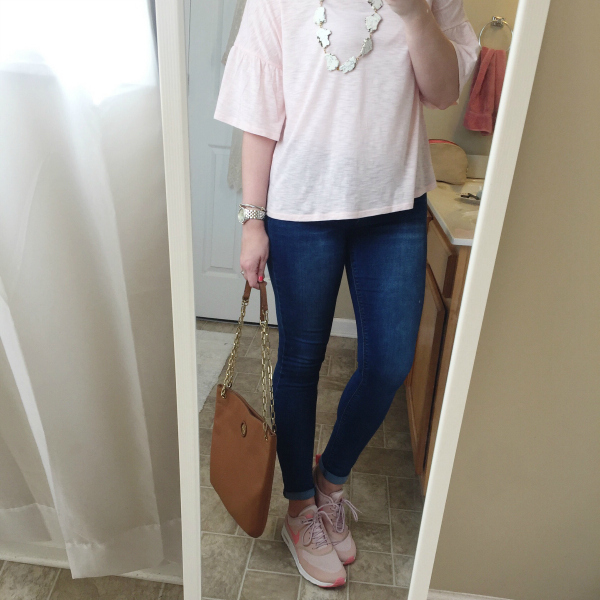 what i wore, outfits, style on a budget, mom style, spring style
