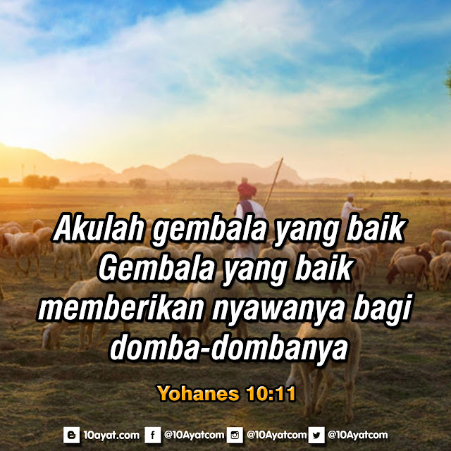 Yohanes 10:11
