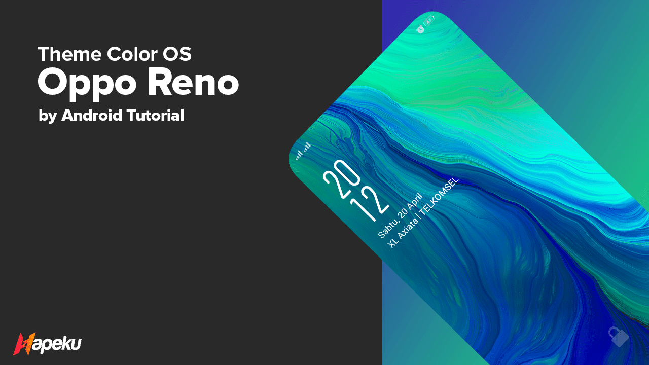 Theme Oppo Reno for Color OS ( OPPO & REALME )
