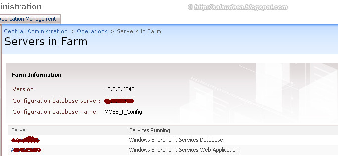 Get Installed SharePoint Farm Version Build Number/Patch