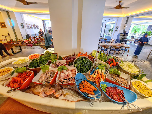 """Pick Your Own Seafood with Different Cooking Style in """"Seafood Market to Table"""" Buffet @ Makan Kitchen, DoubleTree Resort by Hilton Penang"""