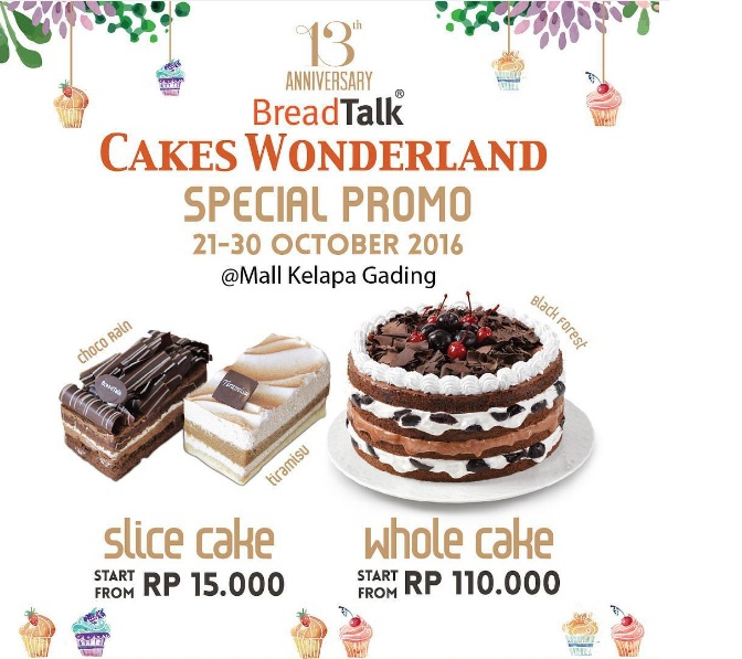 Slice of italy cakes discount coupons