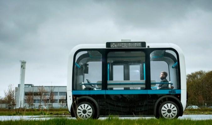 Inovasi Moda Transportasi Tercanggih Saat Ini - Self-Driving Bus 3D-Printed