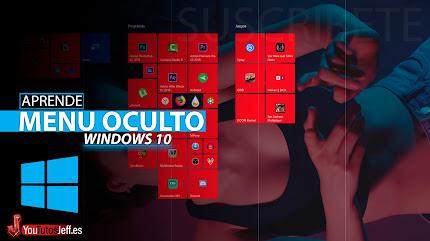 Activar Menu Oculto Windows 10