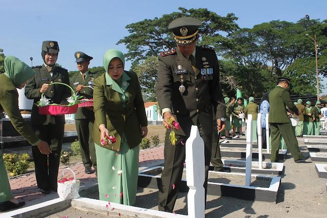Ziarah Nasional Memperingati HUT TNI Ke 74 : Kenang Jasa Pahlawan
