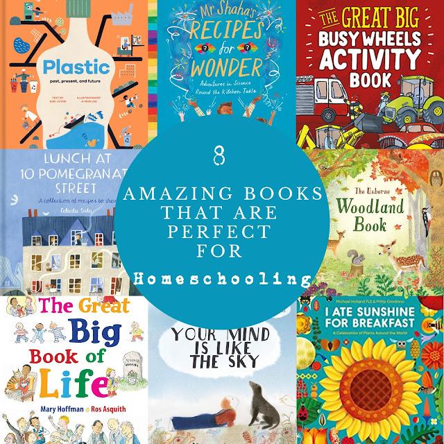 Homeschooling Books Graphic