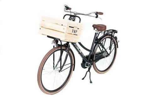 VWP fietskrat hout