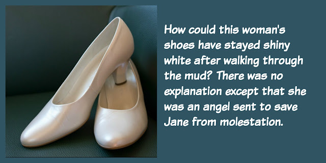Shiny White Shoes - God Sent an Angel to Save a Little Girl