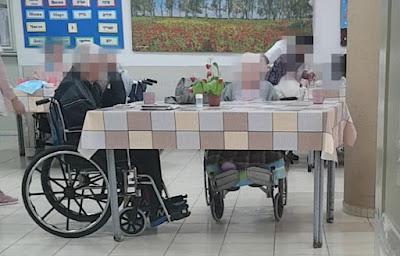 קשישים בבית אבות בלוד. התעלמות מצורכי הקשישים, תנאים סניטריים ירודים