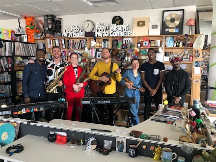 Moonchild im NPR Tiny Desk Concert & Full Album Stream von Little Ghost