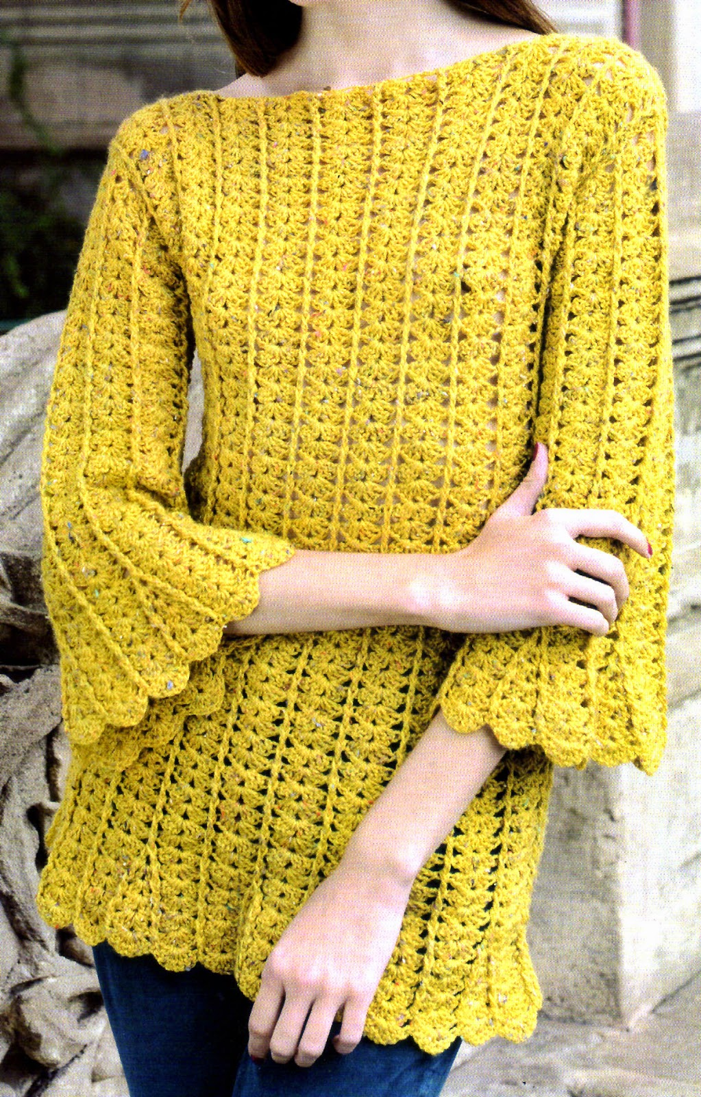 Suéter Abarigo De Punto Largo Para Mujer Cárdigan Tejido