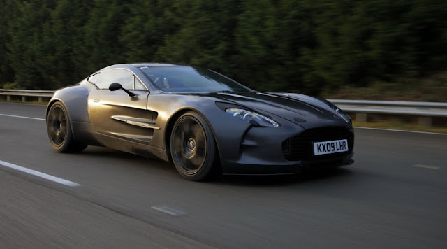 OMG! The 11 FASTEST CARS Ever! - 11 - ASTON MARTIN ONE-77