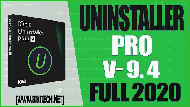 Iobit Uninstaller 9.4