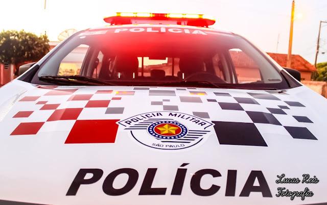 EM LUCÉLIA POLÍCIA MILITAR PRENDE HOMEM FORAGIDO DA JUSTIÇA.