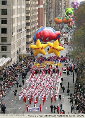 parade de Thanksgiving de Macy's