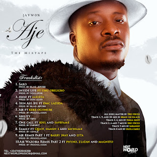 """GX GOSSIP: Jaywon Unveils Cover Art For Incoming Mixtape, """"AJE"""" Drops Tracklist Too"""