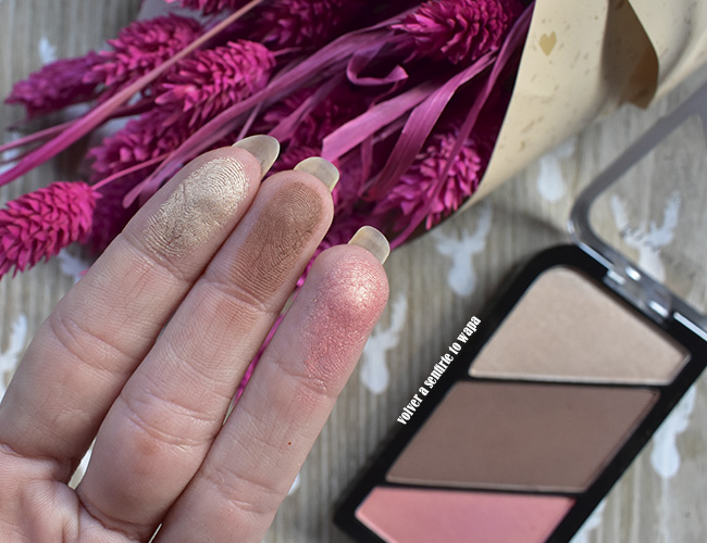 Sculpting Palette de Rimmel by Kate: iluminador, contorno y colorete