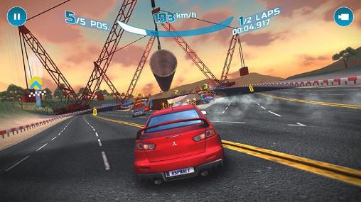 تحميل لعبة السرعة والسباق Asphalt Nitro المهكرة برابط مباشر