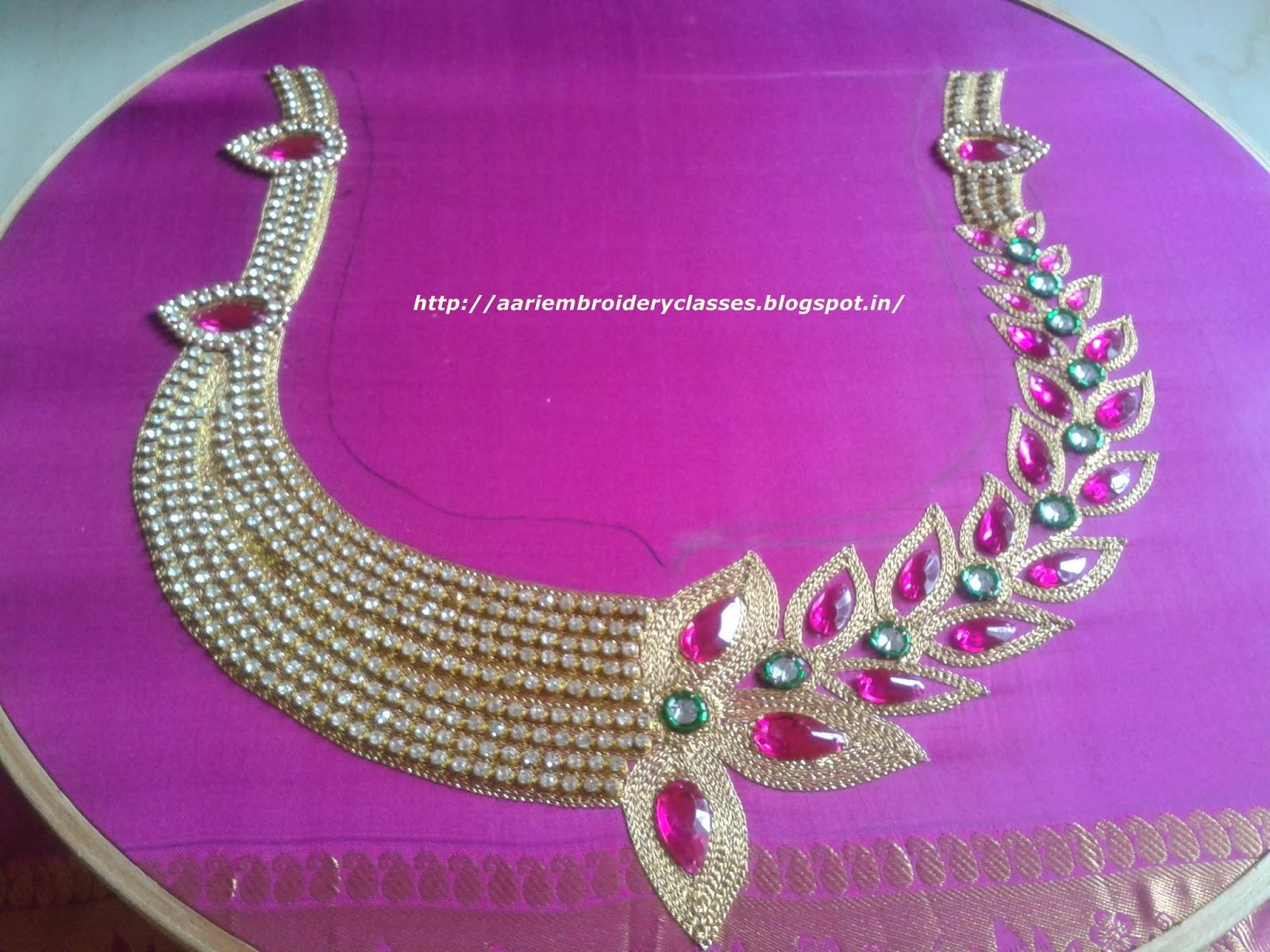 Mari Aari Creations Mari Fashion Boutique Aari